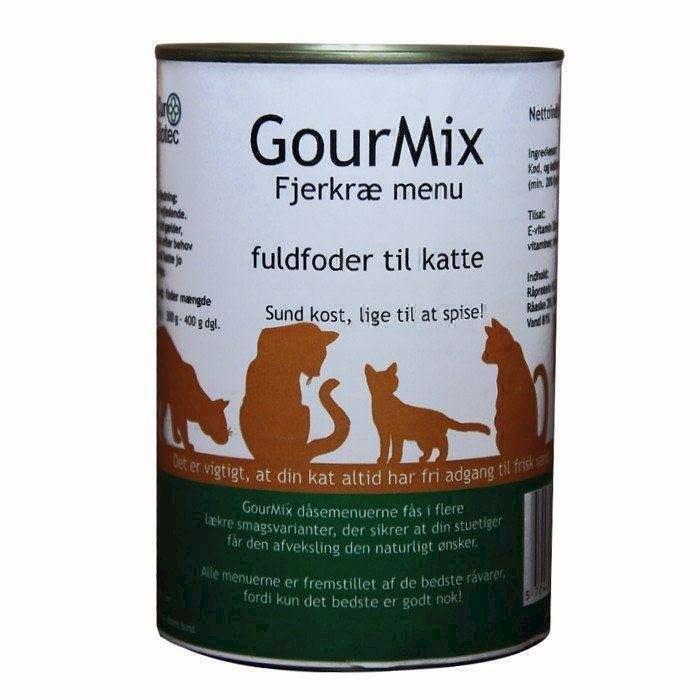 N/A – Gourmix luksusmenu til katte, med fjerkræ smag på mypets.dk