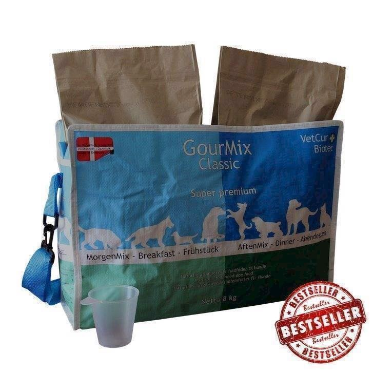 N/A Gourmix classic, 8 kg, dansk kornfrit hundefoder på mypets.dk