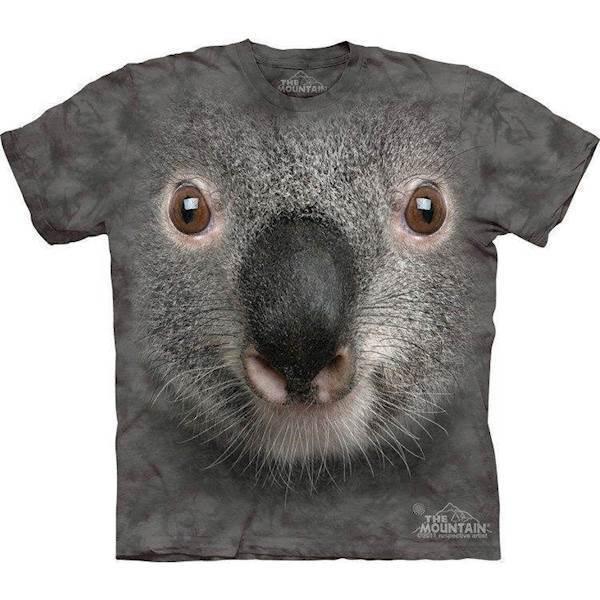 N/A T-shirt med kæmpe koala ansigt fra mypets.dk