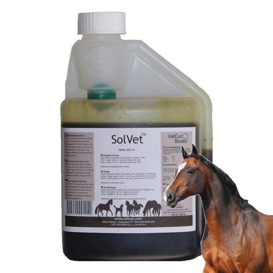 N/A Solvet olietilskud til hest, 4.5 liter på mypets.dk