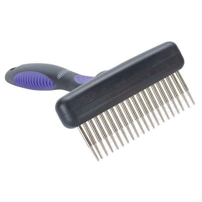 N/A – Buster fleksibel strigle med 20 lange tænder fra mypets.dk