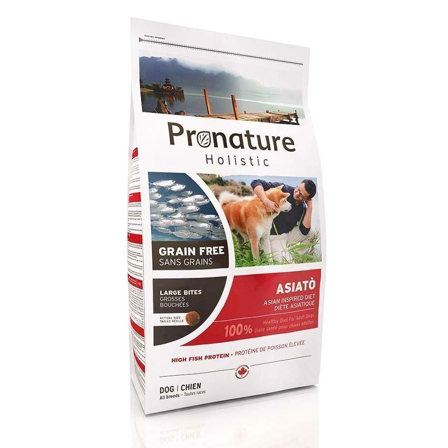Pronature Holistic Asiatò hundefoder, 12 kg big bites
