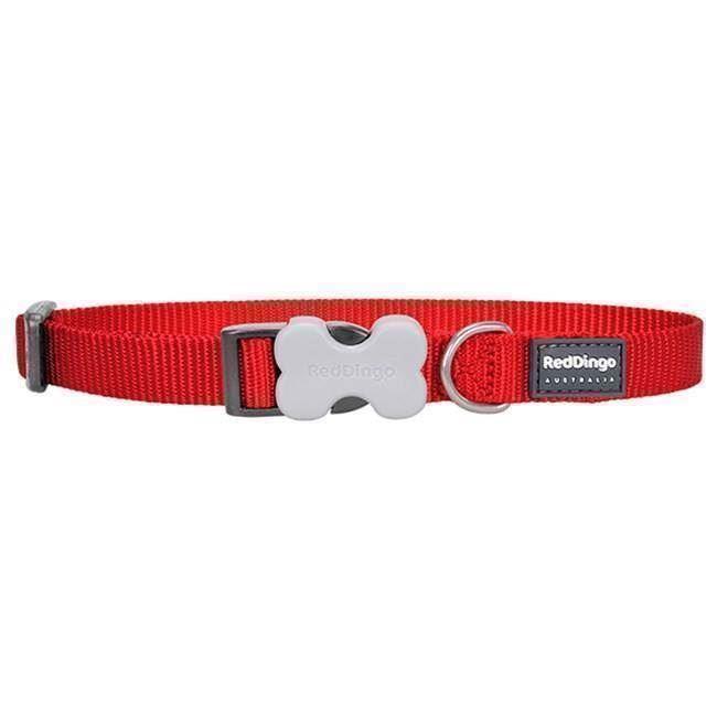 N/A Red dingo halsbånd, rød, 20-32cm på mypets.dk