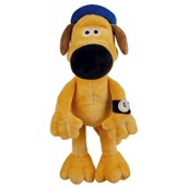 Bitzer fra Shaun the Sheep. Plysbamse med piv, til hund