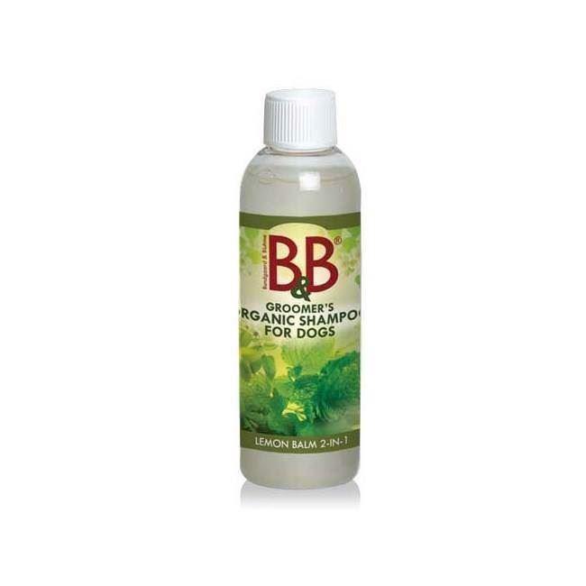 B&b økologisk lemon hundeshampoo og balsam, 250ml fra N/A fra mypets.dk