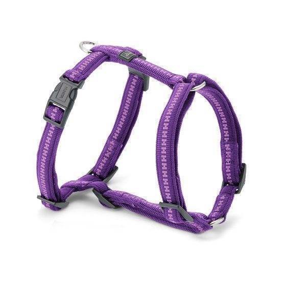 Hunter power grip sele, violet, medium fra N/A på mypets.dk