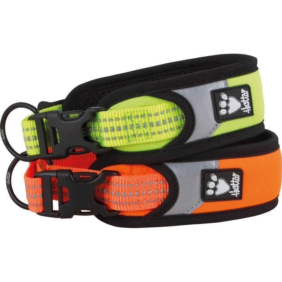 N/A – Hurtta lifeguard dazzle halsbånd orange, 35-45 cm på mypets.dk