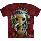 Hippie Alien t-shirt