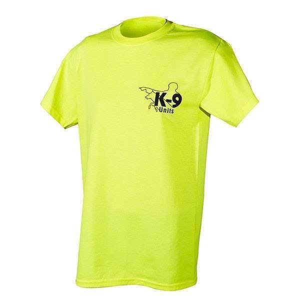 N/A K9 t-shirt, neon, large fra mypets.dk