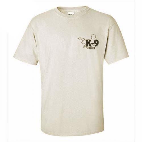 K9 t-shirt, sand, large fra N/A på mypets.dk