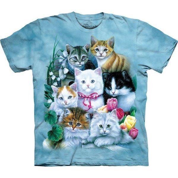 T-shirt med killinger fra N/A på mypets.dk