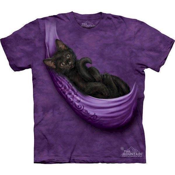 N/A – T-shirt med killing i hængekøje på mypets.dk