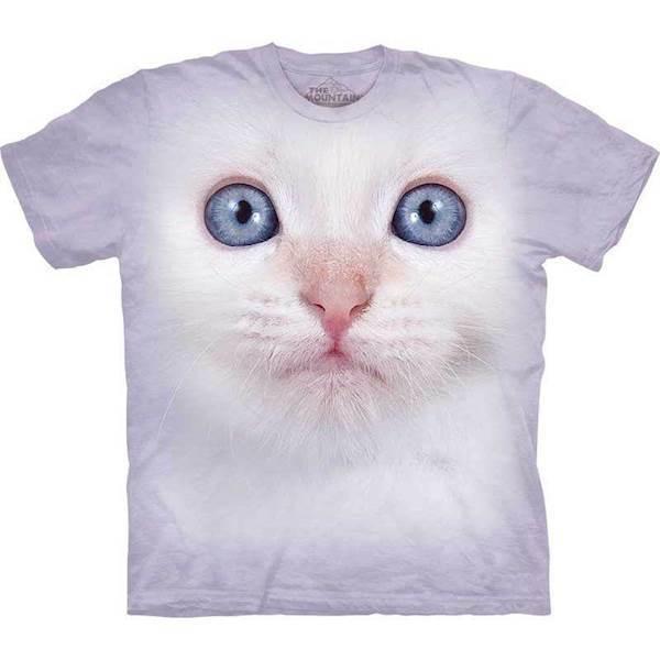 N/A – T-shirt med kæmpe killing ansigt på mypets.dk