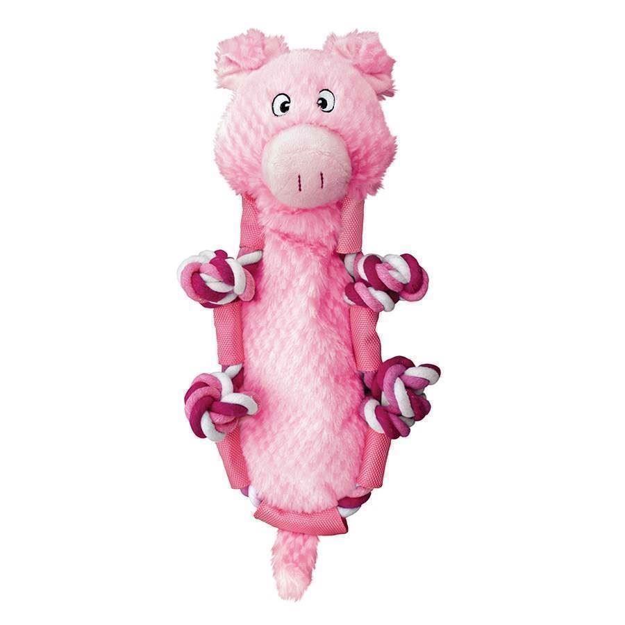 Kong barnyard knots pig fra N/A på mypets.dk