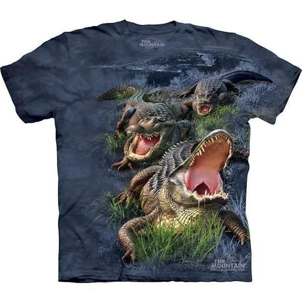 N/A – T-shirt med krokodiller fra mypets.dk
