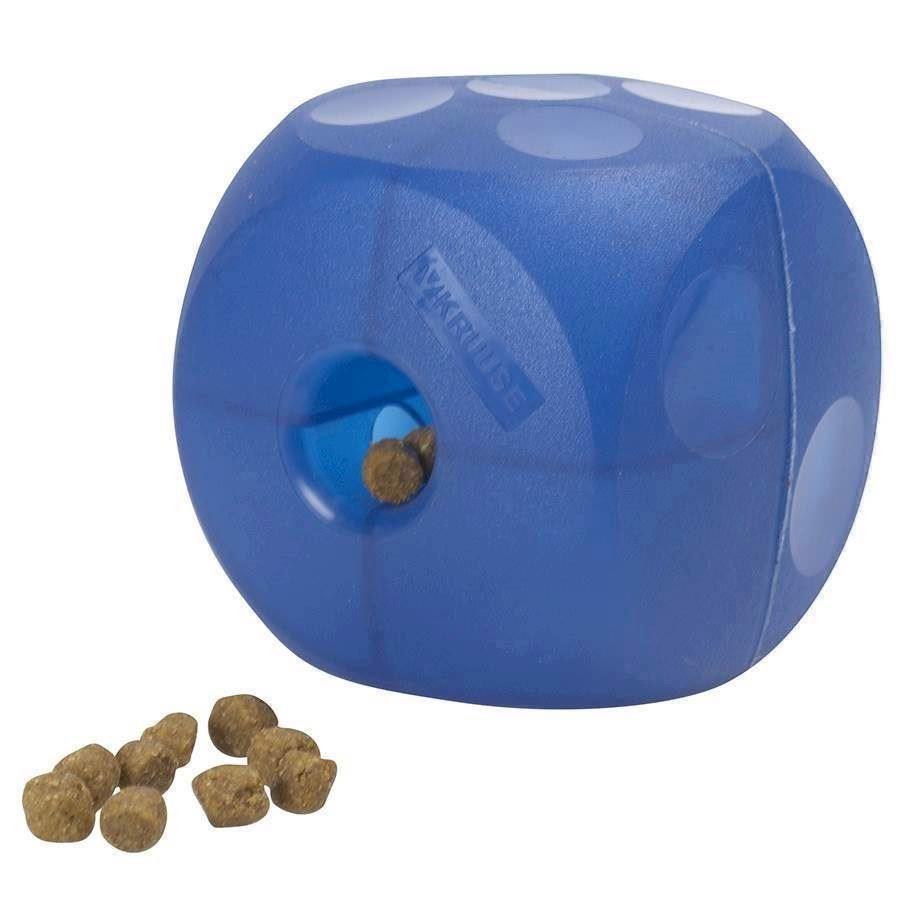 N/A – Buster soft cube, blå på mypets.dk
