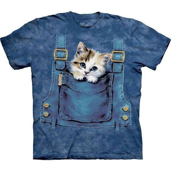 T-shirt med killing i overalls fra N/A fra mypets.dk