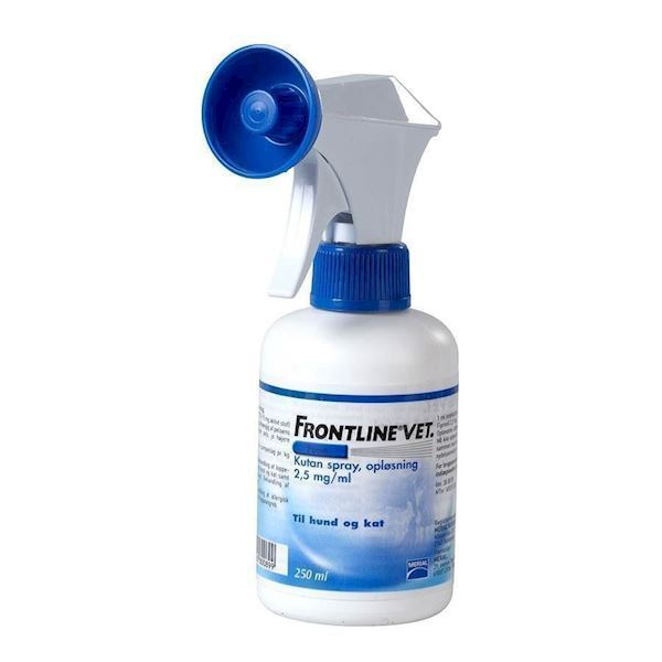 N/A Frontline spray mod lopper og flåter, 250 ml fra mypets.dk