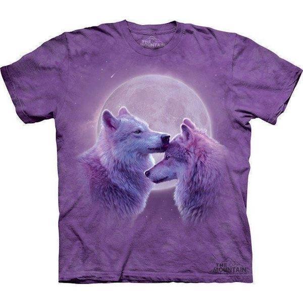 Loving wolves t-shirt fra N/A på mypets.dk