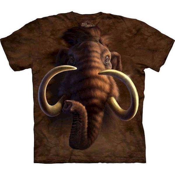N/A T-shirt med kæmpe mamut motiv på mypets.dk