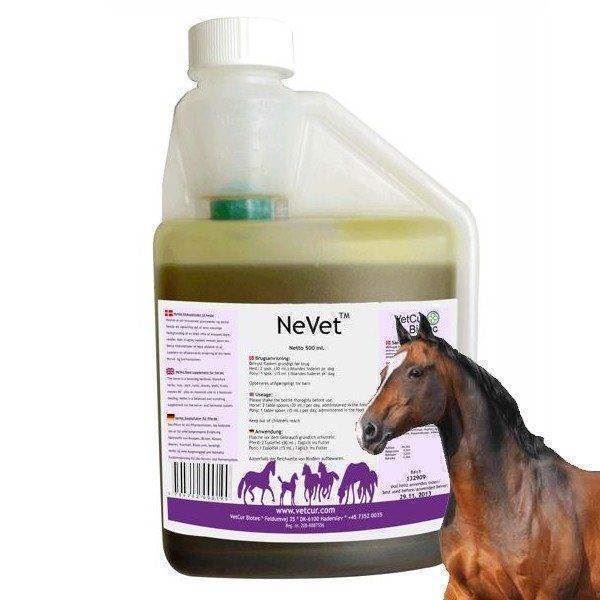 N/A Nevet - olietilskudsfoder til hest på mypets.dk
