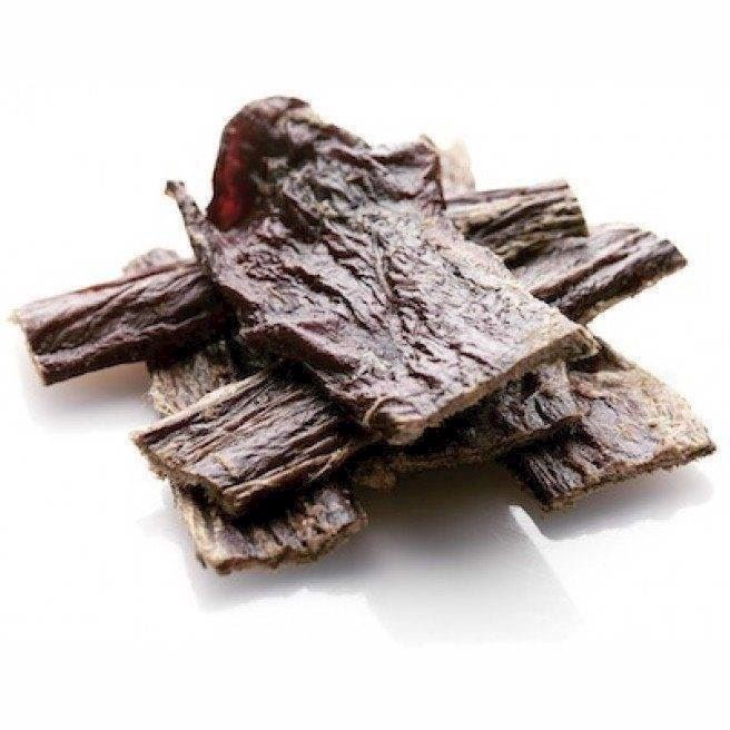 N/A – Beef delights tørret oksekød, 10 stykker fra mypets.dk