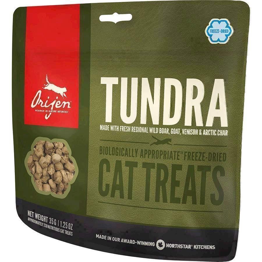 N/A Orijen cat tundra treat - frysetørrede godbidder fra mypets.dk