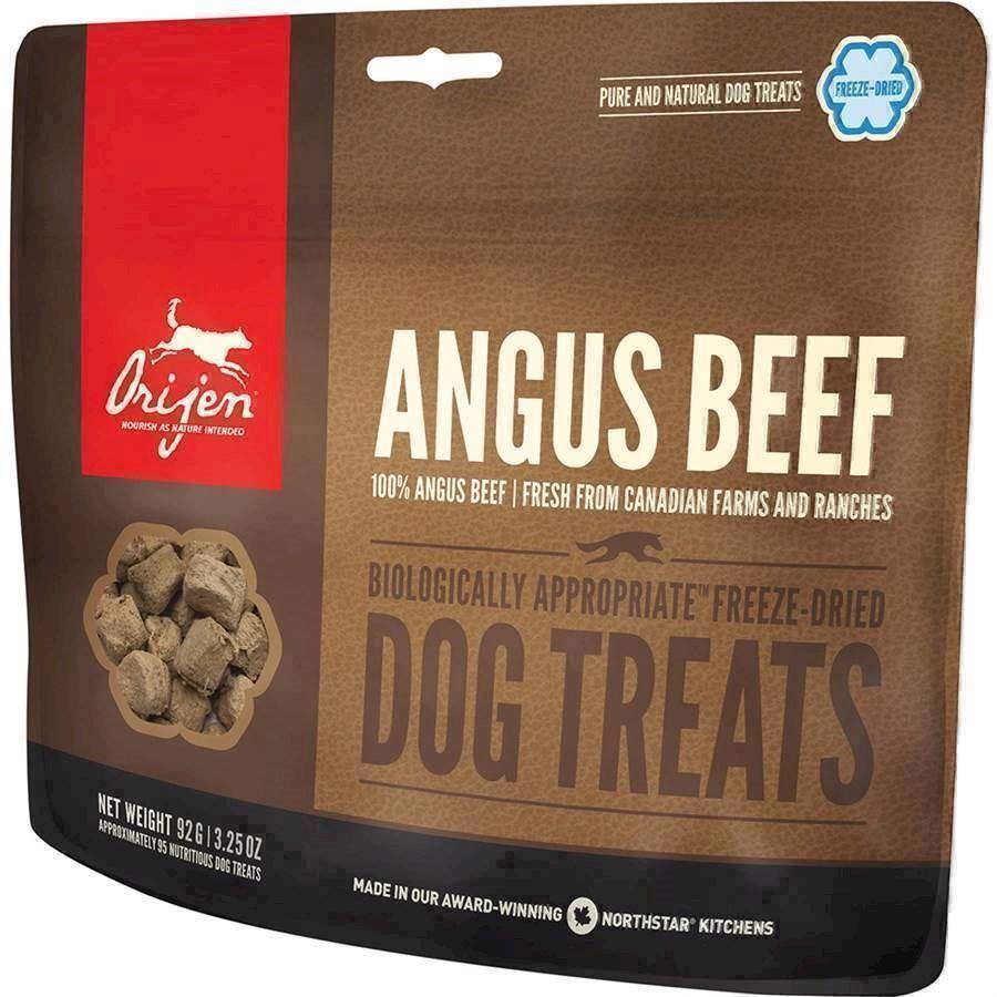 N/A – Orijen angus beef frysetørret godbid, 42.5 gr. på mypets.dk