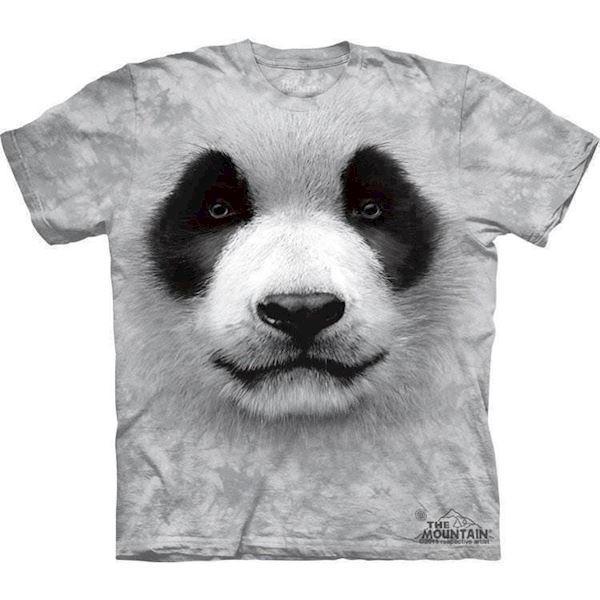 T-shirt med kæmpe panda ansigt fra N/A fra mypets.dk