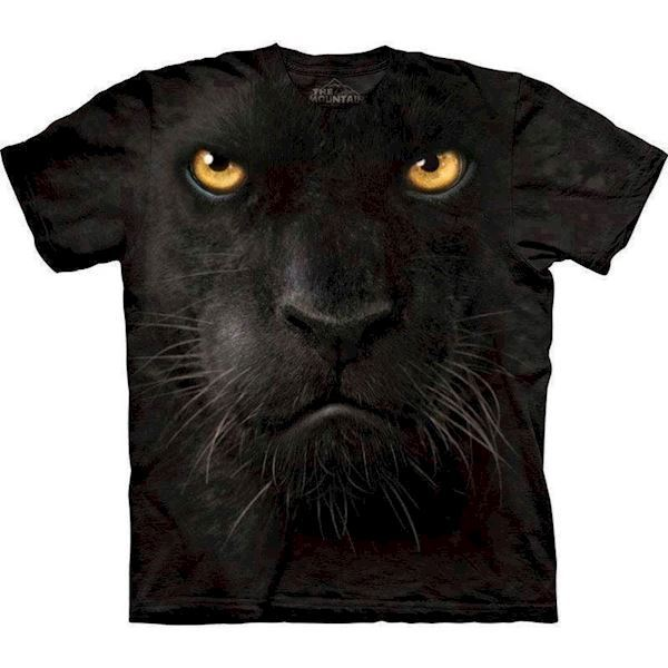 T-shirt med kæmpe panter ansigt fra N/A fra mypets.dk
