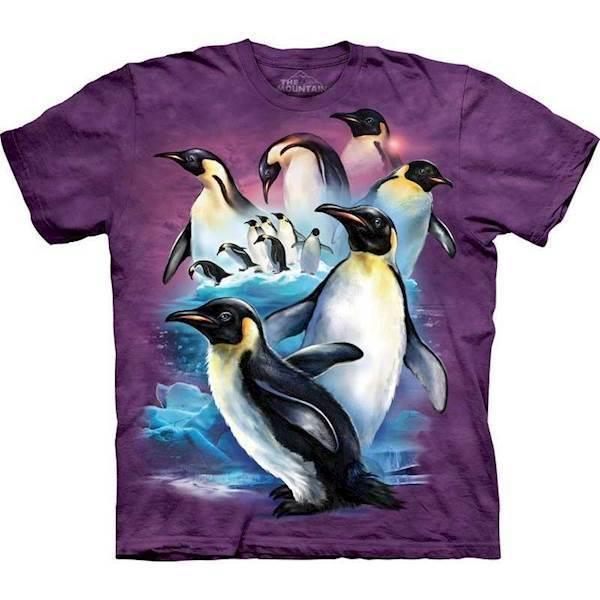 N/A T-shirt med kejser pingviner fra mypets.dk