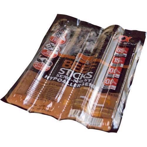N/A – Alphaspirit beef sticks - kornfri, 4 stk fra mypets.dk