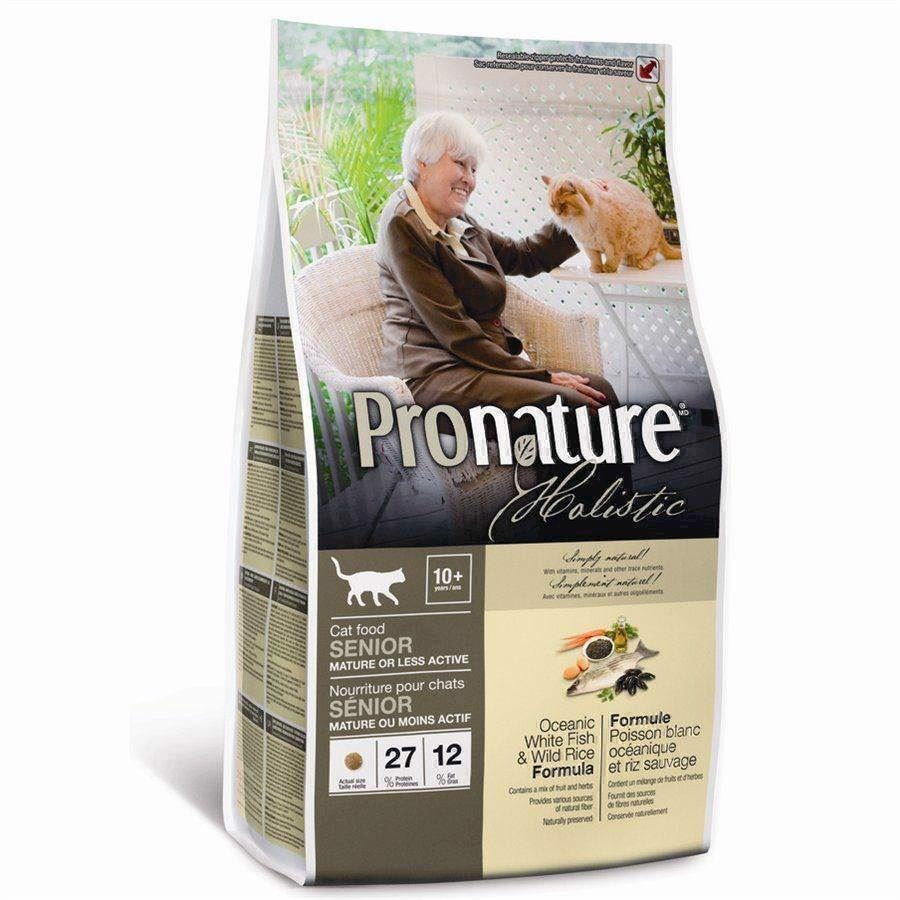 N/A – Pronature holistic cat senior -  white fish, 2.72 kg fra mypets.dk
