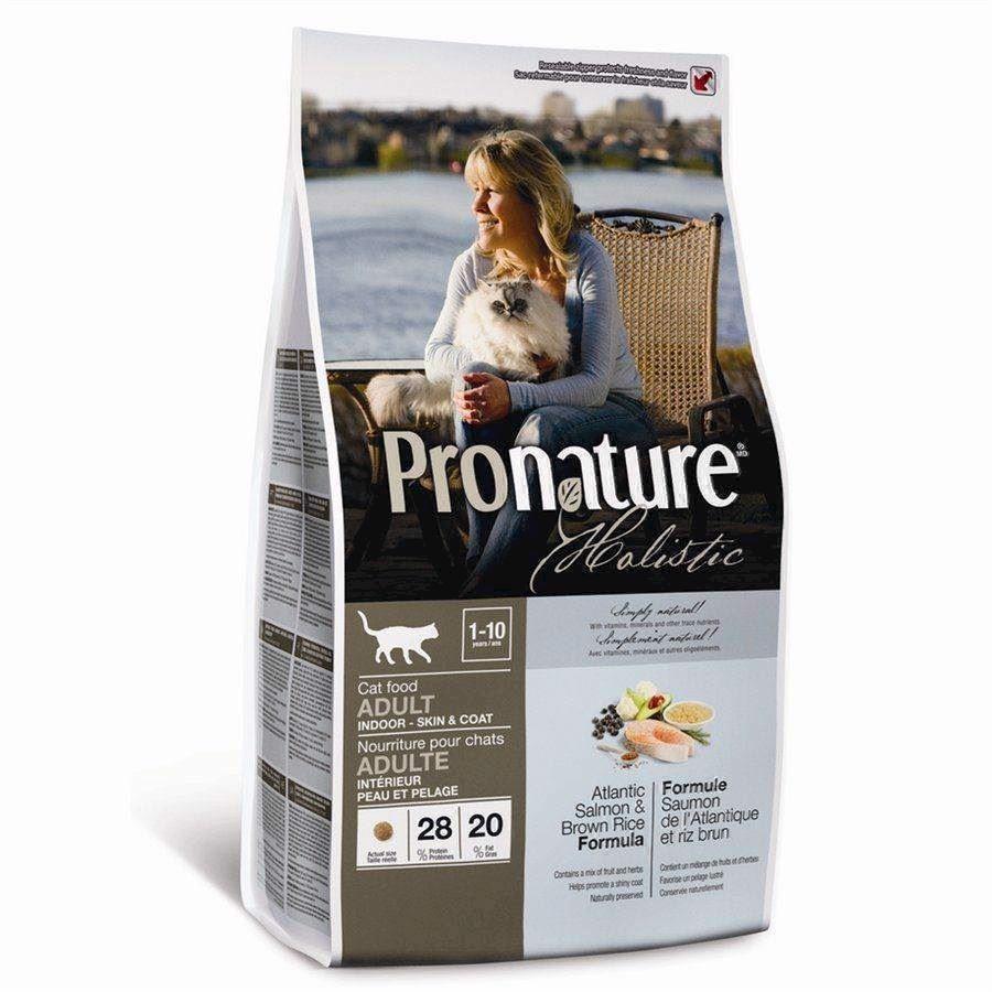 N/A Pronature holistic cat adult - atlantic salmon, 2.72 kg fra mypets.dk