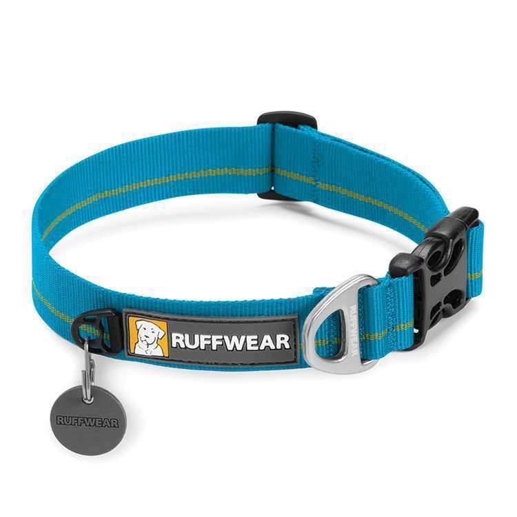 N/A Ruffwear hoopie halsbånd, blå på mypets.dk