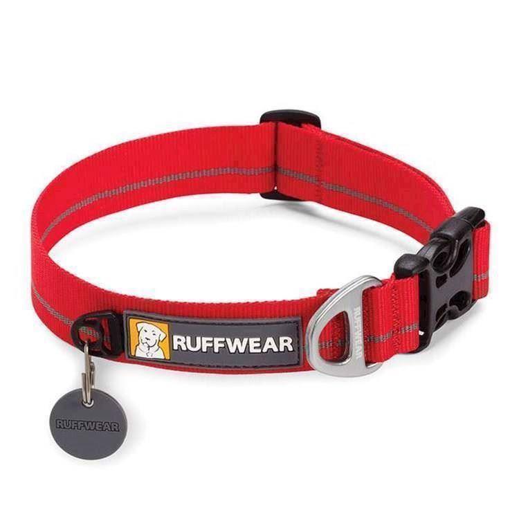 N/A – Ruffwear hoopie halsbånd, rød fra mypets.dk