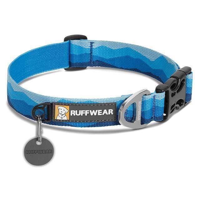 Ruffwear Hoopie Halsbånd, Mountain Blue, 51-66 Cm