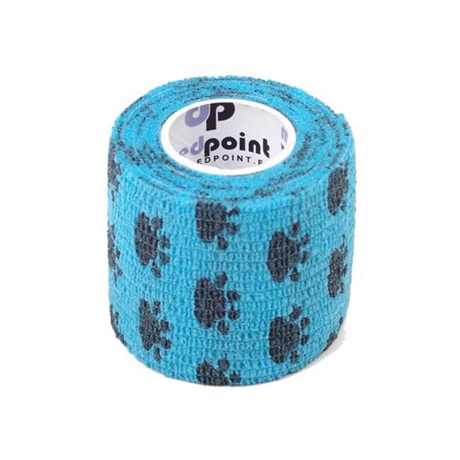 Mp selvklæbende bandage, blå, 2.5 cm x 4.5 meter fra N/A fra mypets.dk