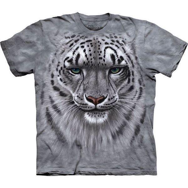 T-shirt med sne leopard motiv fra N/A på mypets.dk