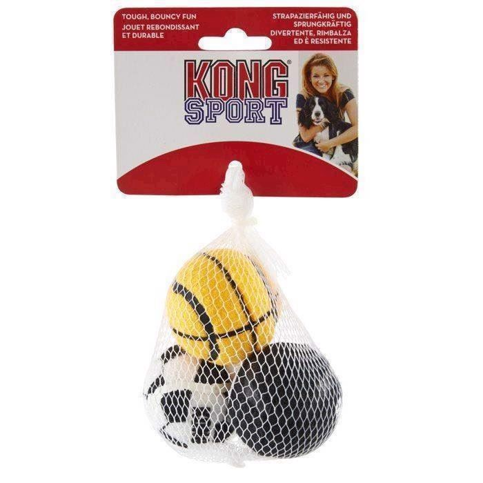N/A – Kong sports balls, 3 styk small på mypets.dk