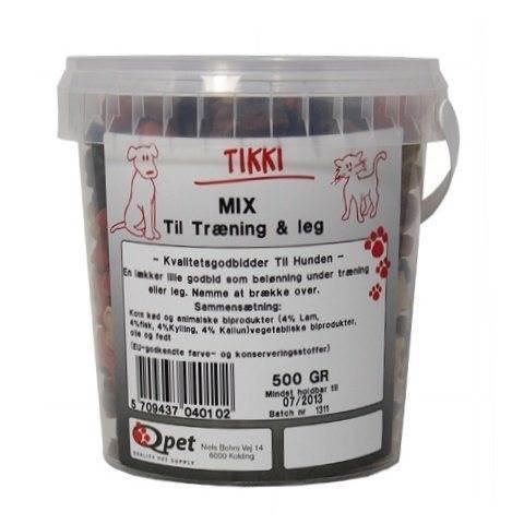 N/A – Tikki mix træningsgodbidder, 500 gr. på mypets.dk