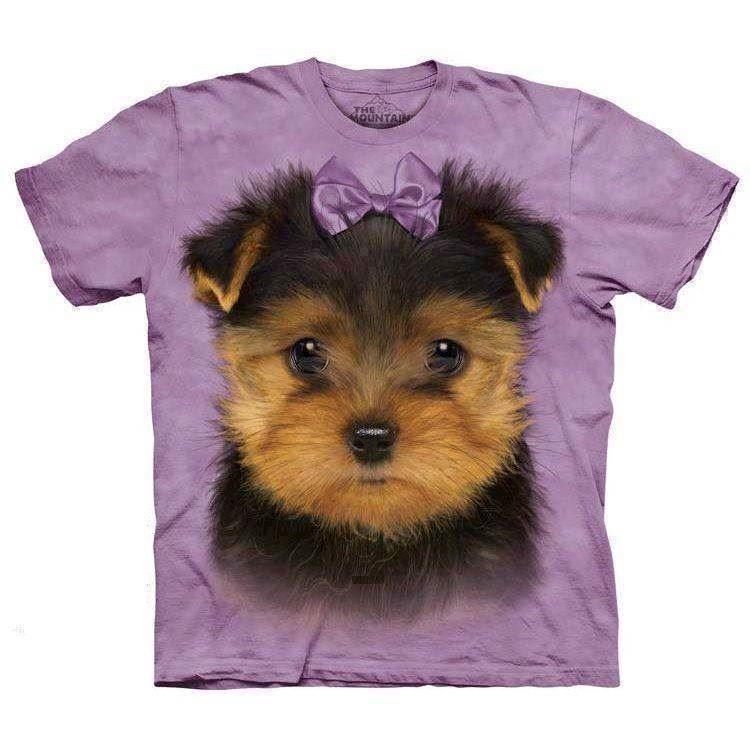 N/A Yorkshire terrier hvalp t-shirt fra mypets.dk