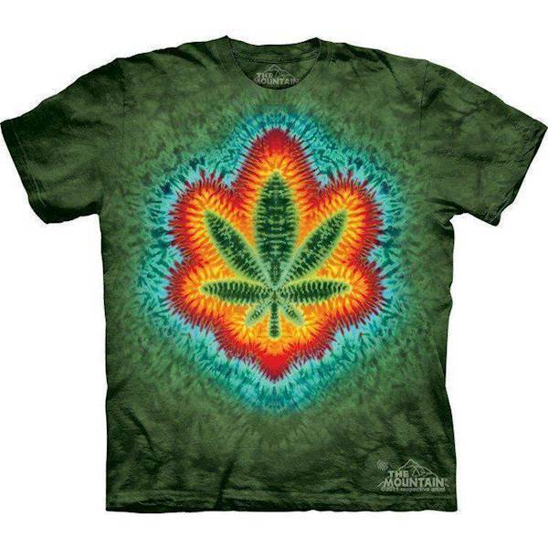 N/A – T-shirts med hamp plante på mypets.dk
