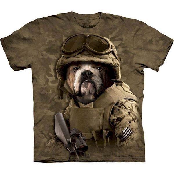 N/A – T-shirt med combat sam motiv fra mypets.dk