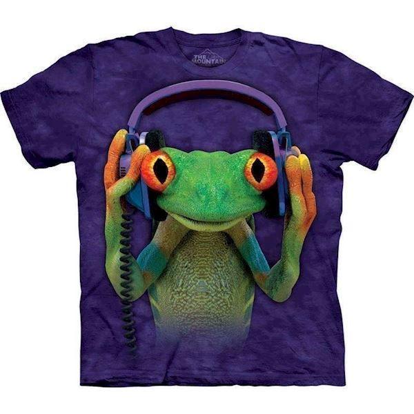 T-shirt med dj peace motiv fra N/A fra mypets.dk