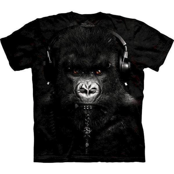 T-shirt med dj gorilla motiv fra N/A fra mypets.dk