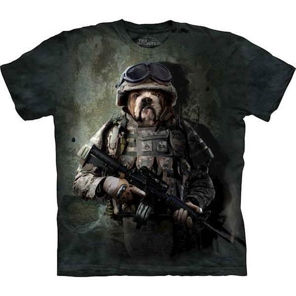 T-shirt med marine sam motiv fra N/A fra mypets.dk
