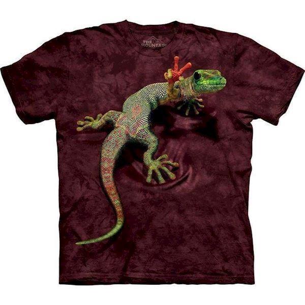 T-shirt med kæmpe 3d gekko fra N/A fra mypets.dk