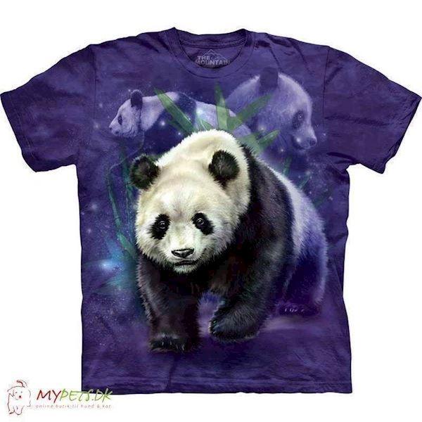 N/A – T-shirt med stort pandabjørn motiv fra mypets.dk