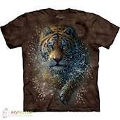 T-shirt med Tiger Splash motiv